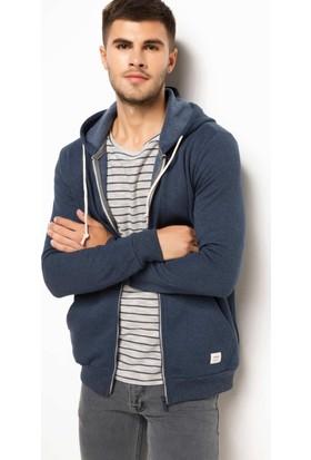 DeFacto Basic Kapüşonlu Sweatshirt Hırka