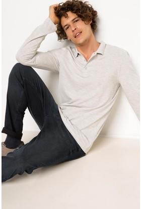 DeFacto Basic Polo Sweatshirt
