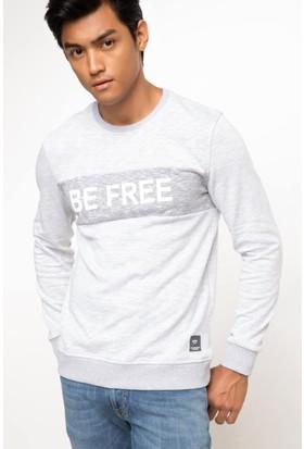 DeFacto Baskılı Sweatshirt