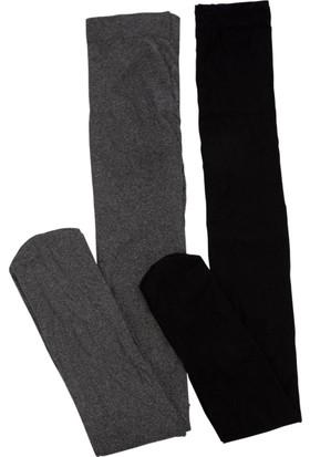DeFacto Genç Kız 2'li Külotlu Çorap