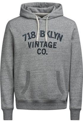 Jack & Jones Sweat Hood Jjvraymond 12124771-LGM