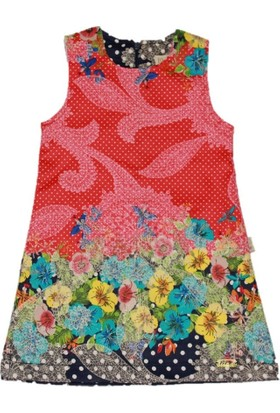 Lilax Su Yolu Jakar Kız Çocuk Jile Elbise