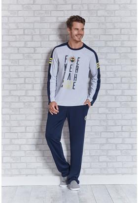 Fenerbahçe Lisanslı Erkek Pijama Takımı L9409