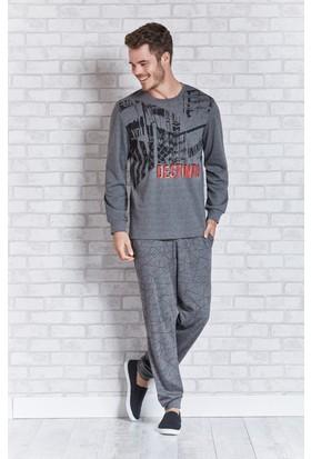 Rolypoly İnterlok Erkek Pijama Takımı RP3114