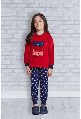 Rolypoly İnterlok Kız Çocuk Pijama Takımı RP1183