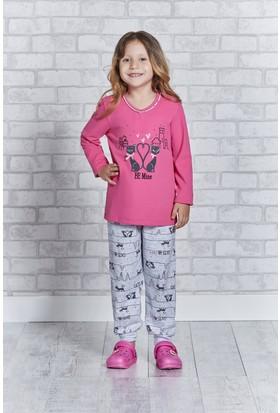 Rolypoly İnterlok Genç Kız Pijama Takımı RP2167