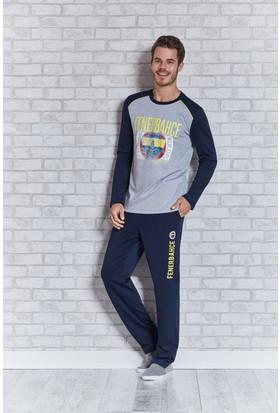 Fenerbahçe Lisanslı Erkek Pijama Takımı L9412