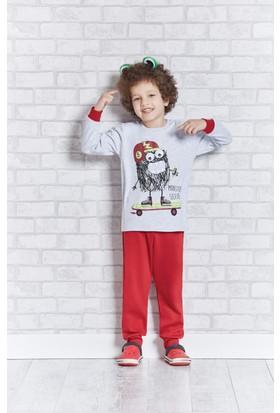Rolypoly İnterlok Erkek Çocuk Pijama Takımı RP1103