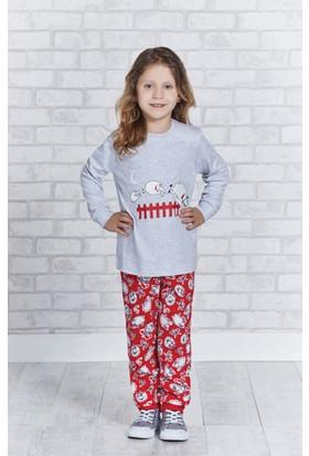 Rolypoly İnterlok Kız Çocuk Pijama Takımı RP1169