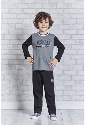 Beşiktaş Lisanslı Genç Erkek Pijama Takımı L9304
