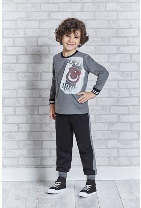 Beşiktaş Lisanslı Genç Erkek Pijama Takımı L9305