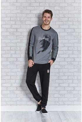 Beşiktaş Lisanslı Erkek Pijama Takımı L9403