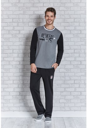 Beşiktaş Lisanslı Erkek Pijama Takımı L9404