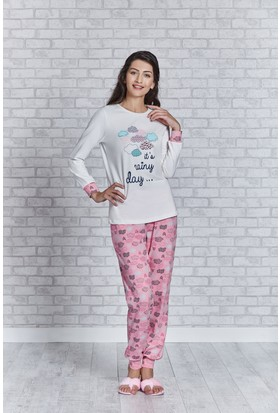 Rolypoly İnterlok Bayan Pijama Takımı RP3168