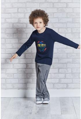 Fenerbahçe Lisanslı Genç Erkek Pijama Takımı L9308