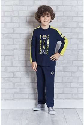 Fenerbahçe Lisanslı Genç Erkek Pijama Takımı L9309