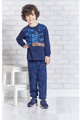 Rolypoly İnterlok Erkek Çocuk Pijama Takımı RP1114