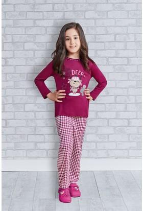 Rolypoly İnterlok Genç Kız Pijama Takımı RP2170