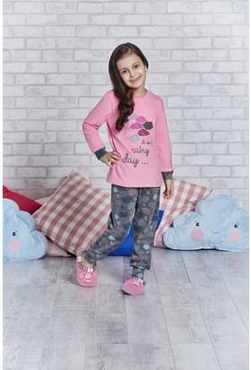 Rolypoly İnterlok Genç Kız Pijama Takımı RP2168