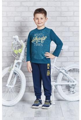 Rolypoly İnterlok Erkek Çocuk Pijama Takımı RP1111