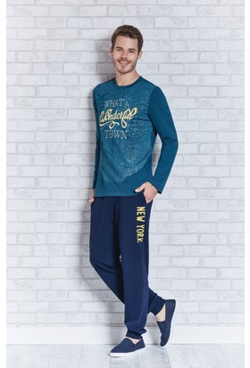 Rolypoly İnterlok Erkek Pijama Takımı RP3111