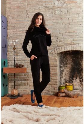 Pierre Cardin Kadın Pijama Takımı Siyah