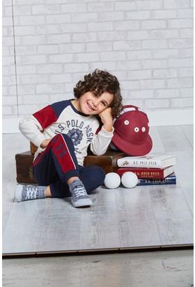 U.S. Polo Assn. Lisanslı Erkek Çocuk Pijama Takımı-US-114
