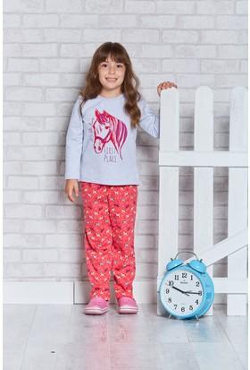 U.S. Polo Assn. Lisanslı Genç Kız Pijama Takımı-US-157