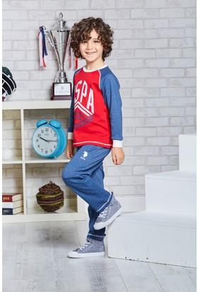 U.S. Polo Assn. Lisanslı Genç Erkek Pijama Takımı-US-101