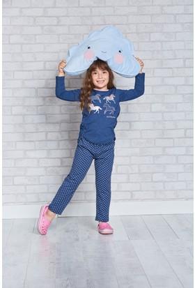 U.S. Polo Assn. Lisanslı Genç Kız Pijama Takımı-US-153