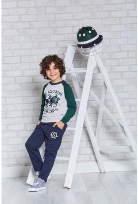 U.S. Polo Assn. Lisanslı Genç Erkek Pijama Takımı-US-123