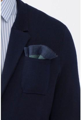 Hemington Açık Yeşil Örgü Ceket Mendili