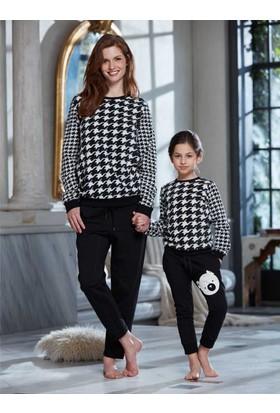 Penye Mood 8228 Kışlık Kadın Pijama Takımı