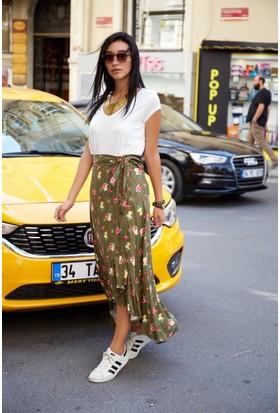 Bsl Fashion Haki Etek 9326