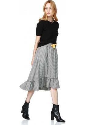Bsl Fashion Kazayağı Etek 9573