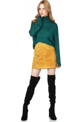 Bsl Fashion Hardal Etek 9589