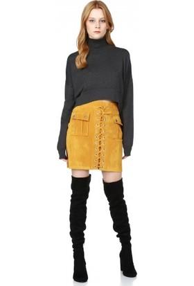 Bsl Fashion Hardal Etek 9539