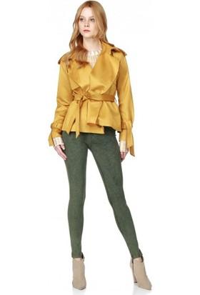 Bsl Fashion Hardal Ceket 9564
