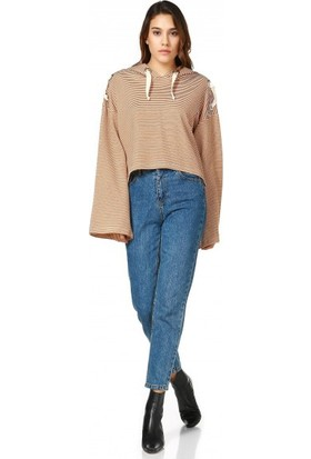 Bsl Fashion Bej Sweatshirt 9507