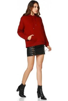Bsl Fashion Siyah Etek 9501