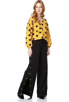 Bsl Fashion Hardal Bluz 9599