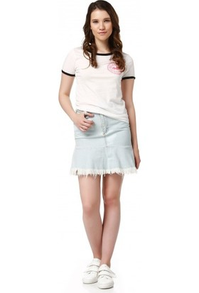 Bsl Fashion Ekru T Shirt 9375