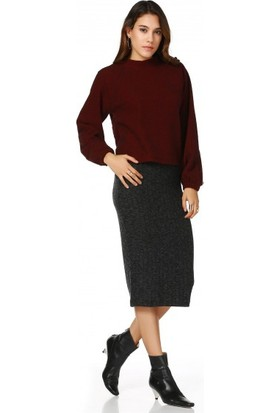 Bsl Fashion Bordo Sweatshirt 10621