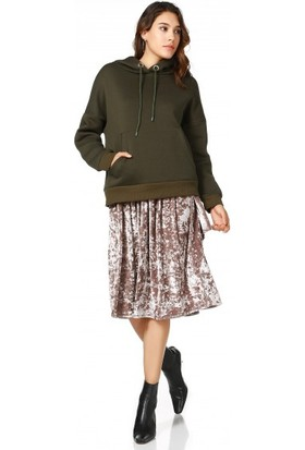 Bsl Fashion Haki Sweatshirt 9548