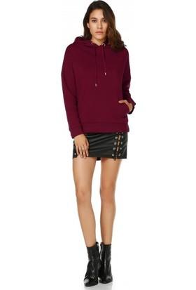 Bsl Fashion Bordo Sweatshirt 9548