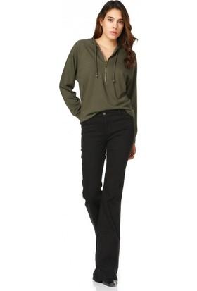 Bsl Fashion Haki Sweatshirt 9499
