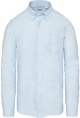 Timberland Mavi Erkek Gömlek A1S48B02