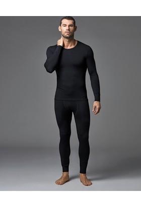 Dagi Erkek Termal Atlet Siyah