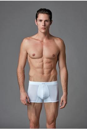 Eros Erkek 2'li Modal Boxer Beyaz