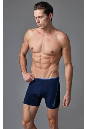 Eros Erkek Boxer Lacivert
